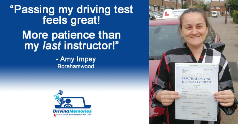 Driving Instructor Borehamwood - Amy Impey