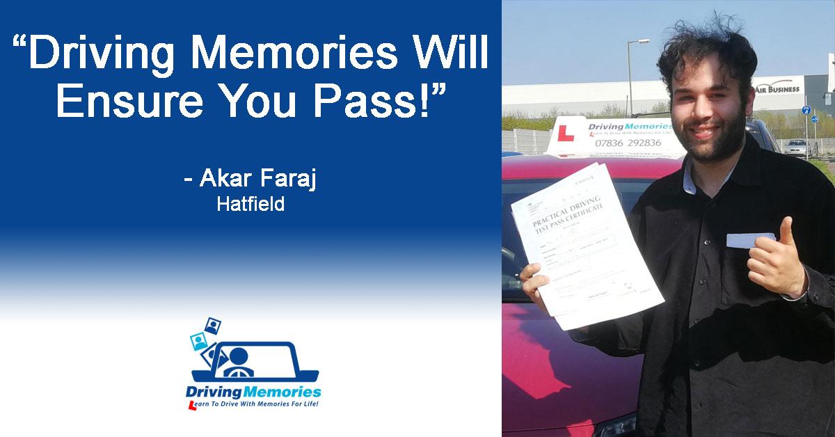 Driving Instructor Hatfield