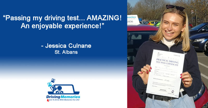 Driving Instructor St Albans Herts - Jessica Culnane