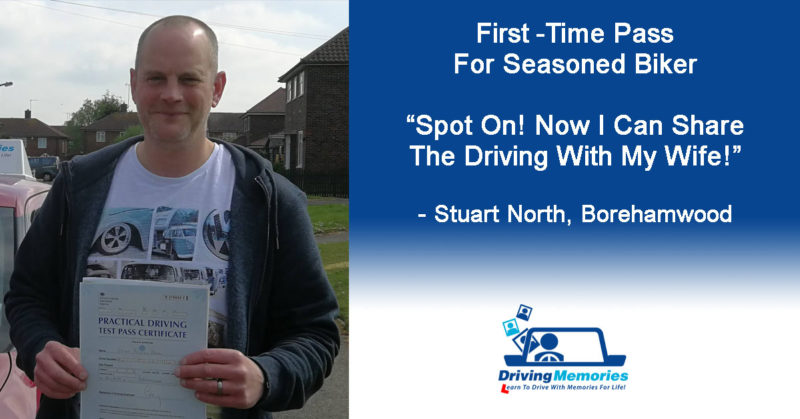 Driving Instructor Borehamwood - Stuart North