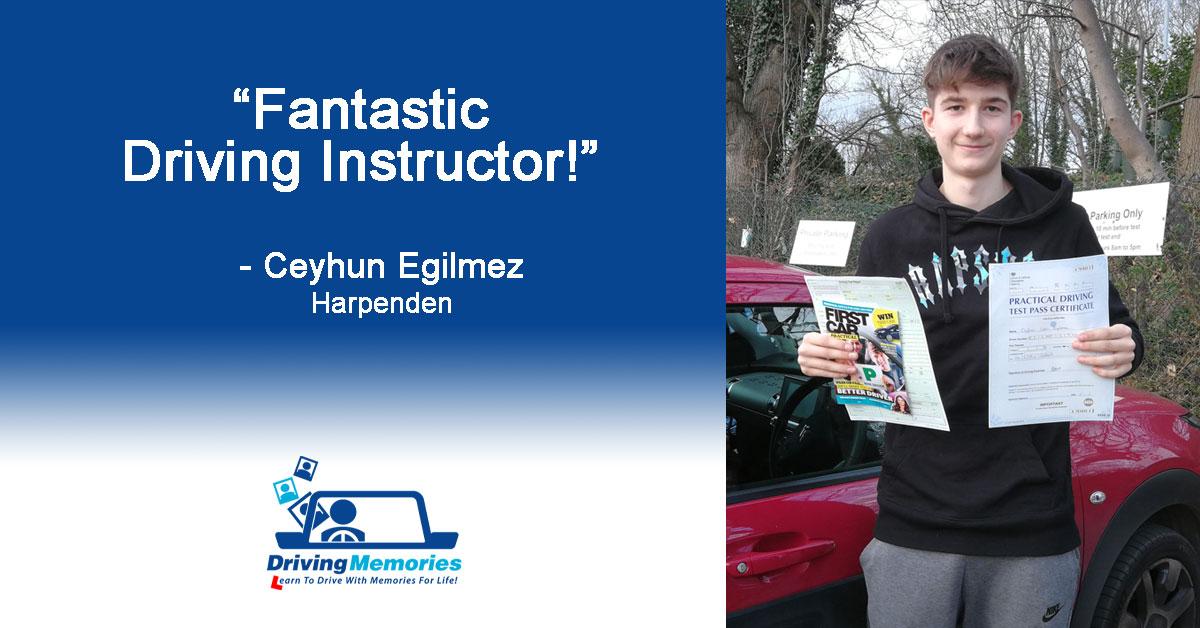 Driving Instructor Harpenden
