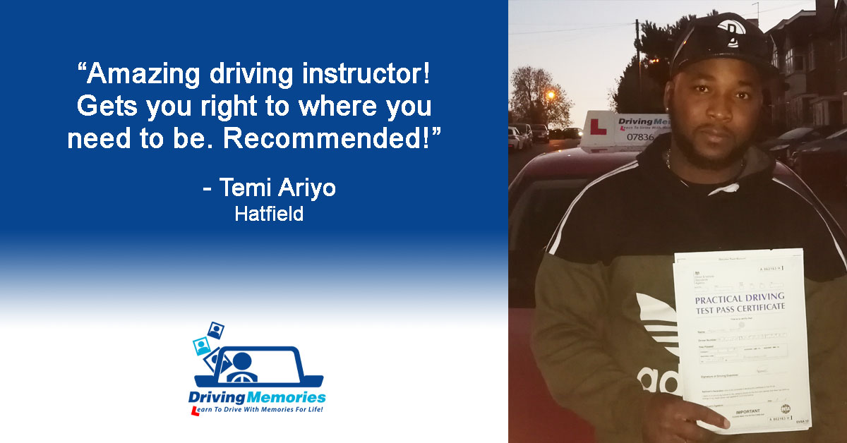 Driving Lessons in Hatfield